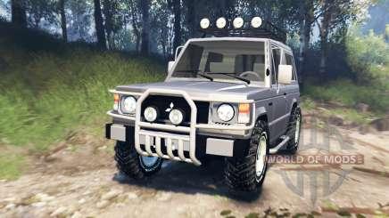 Mitsubishi Pajero I v3.0 pour Spin Tires