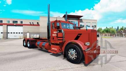 La peau Hawk de Halage pour le camion Peterbilt 389 pour American Truck Simulator