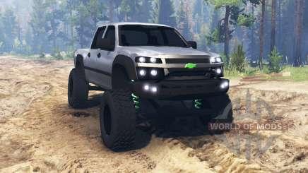 Chevrolet Colorado v2.0 pour Spin Tires