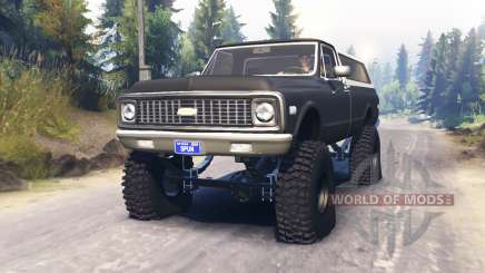 Chevrolet K5 Blazer 1972 pour Spin Tires