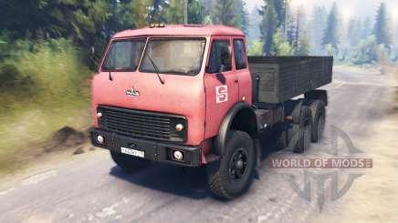 MAZ-516Б für Spin Tires