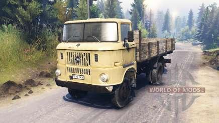 IFA W50 L für Spin Tires