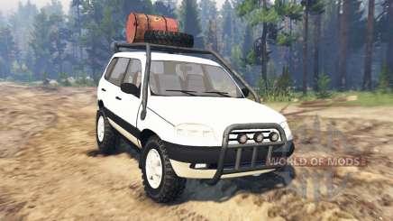 ВАЗ-21236 Chevrolet Niva pour Spin Tires