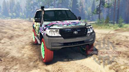 Toyota Land Cruiser 200 [Monster Energy] pour Spin Tires