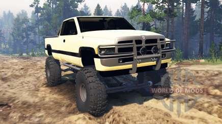 Dodge Ram Ext. Cab 1996 pour Spin Tires