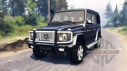 Mercedes-Benz G 500 v3.0 pour Spin Tires