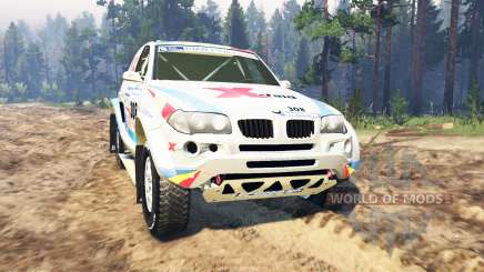BMW X3 Rally für Spin Tires