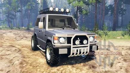 Mitsubishi Pajero I v2.0 für Spin Tires