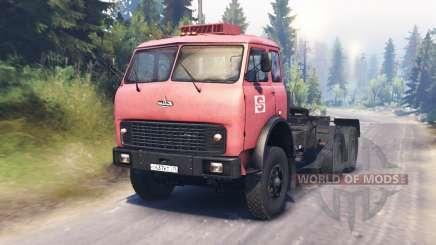 MAZ-515Б für Spin Tires