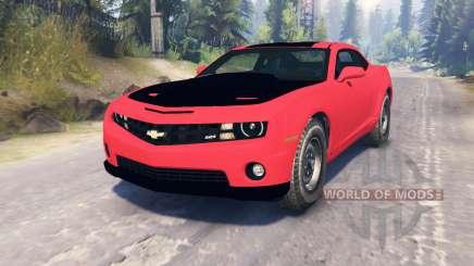 Chevrolet Camaro SS pour Spin Tires