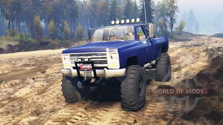 Chevrolet Silverado 1979 v2.0 pour Spin Tires