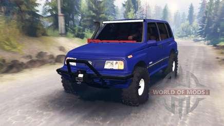 Suzuki Grand Vitara pour Spin Tires