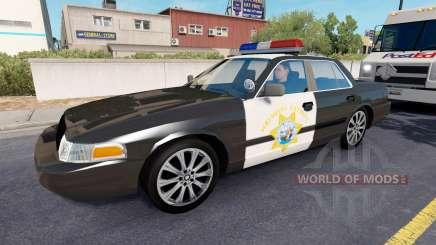 California Highway Patrol pour American Truck Simulator