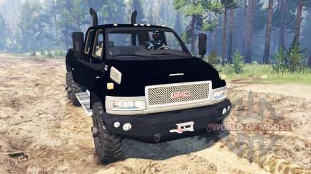 GMC TopKick C4500 6x6 für Spin Tires