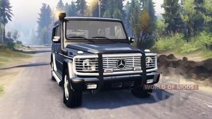 Mercedes-Benz G 500 v2.0 pour Spin Tires