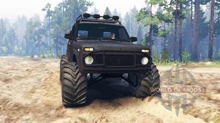 VAZ-21213 Niva pour Spin Tires