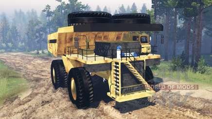 Mining truck Godzilla v2.0 für Spin Tires