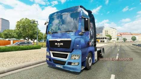 Haut Mass Effect für Traktor MAN für Euro Truck Simulator 2