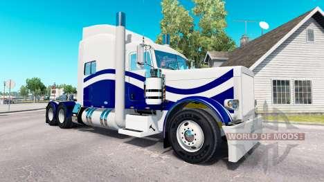De la peau Personnalisé 9 pour le camion Peterbi pour American Truck Simulator