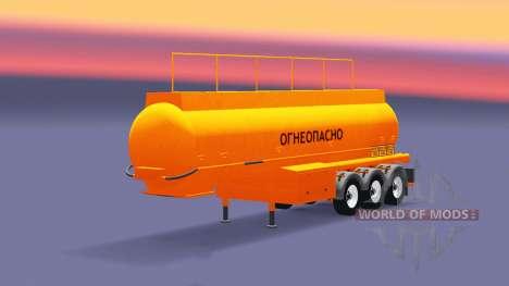 Réservoir semi-remorque BCM-35 pour Euro Truck Simulator 2