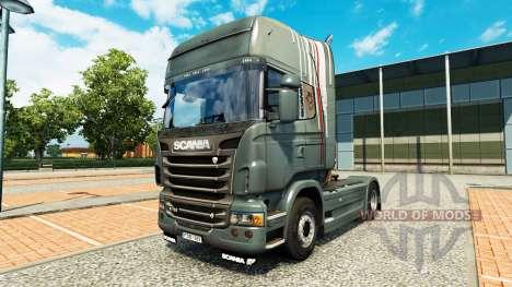 De la peau pour Scania camion pour Euro Truck Simulator 2