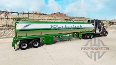 Haut Rethwisch Transport auf semi-trailer für American Truck Simulator