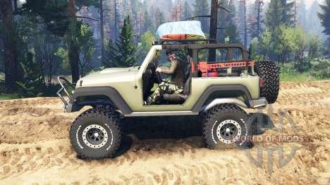 Jeep Wrangler Renegade (JK) v2.0 für Spin Tires