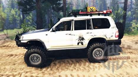 Toyota Land Cruiser 100 2000 [Samuray] v2.0 für Spin Tires