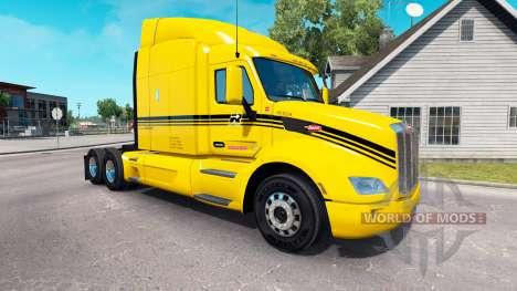Groupe Robert skin für den truck Peterbilt für American Truck Simulator
