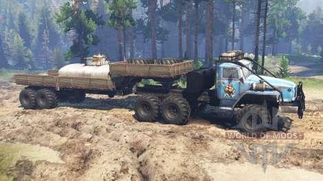 Ural-4320-10 10x10 für Spin Tires