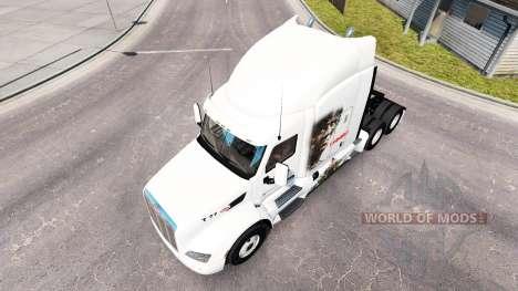 Rambo de la peau pour le camion Peterbilt pour American Truck Simulator
