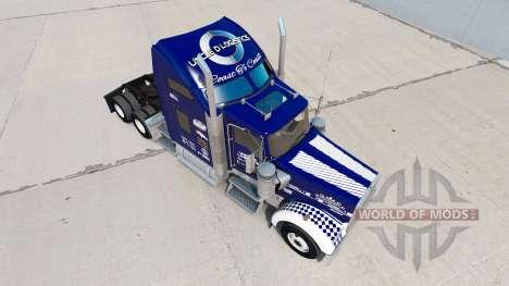 La peau Oncle D de la Logistique sur le camion K pour American Truck Simulator