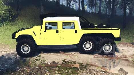 Hummer H1 6x6 Raptor v3.0 für Spin Tires