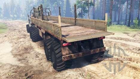 Ural-4320 [grizzly] für Spin Tires