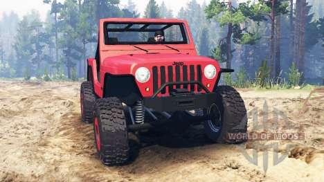 Jeep Wrangler 2005 für Spin Tires