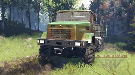 KrAZ-7140 v5.0 für Spin Tires
