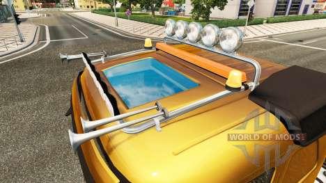 Lightbar, Volvo für Euro Truck Simulator 2