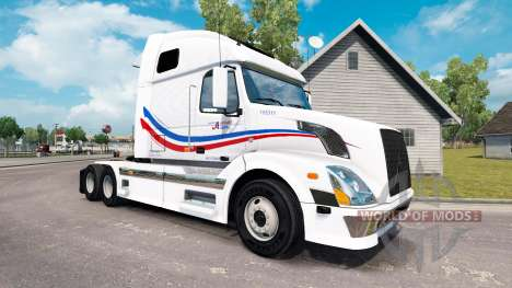 Haut Jacques Förderschnecke für Traktor Volvo VN für American Truck Simulator