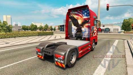 Haut Adler Traktor MAN für Euro Truck Simulator 2