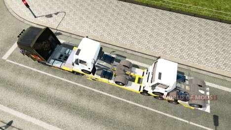 Bas de balayage avec des Ford camions de Fret pour Euro Truck Simulator 2