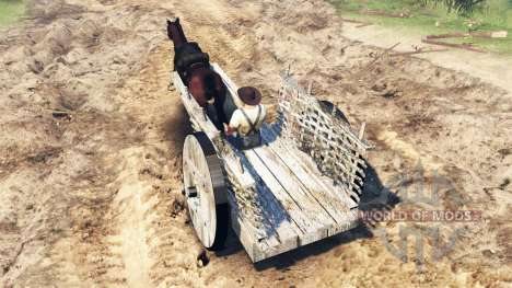Wagon v2.0 für Spin Tires