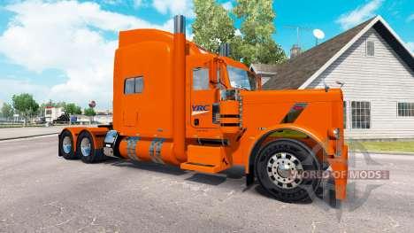 Haut YRC Fracht für den truck-Peterbilt 389 für American Truck Simulator