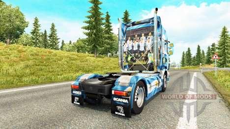 Die Argentinien-Copa 2014 skin für Scania-LKW für Euro Truck Simulator 2