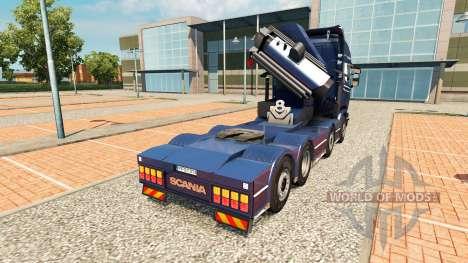 Chassis 8x4 Scania für Euro Truck Simulator 2