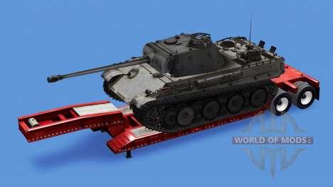 Low sweep mit Lasten von verschiedenen tanks für American Truck Simulator