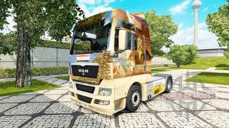 L'égypte de la peau pour l'HOMME de camion pour Euro Truck Simulator 2