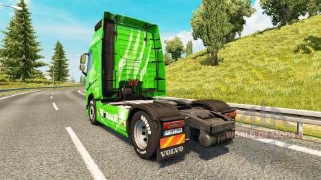 Xbox One skin für Volvo-LKW für Euro Truck Simulator 2