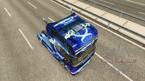 Dub Step skin für Scania-LKW für Euro Truck Simulator 2