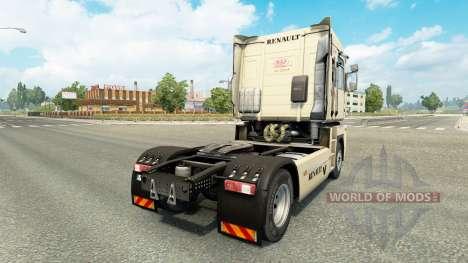 Pinup Haut für Renault-LKW für Euro Truck Simulator 2