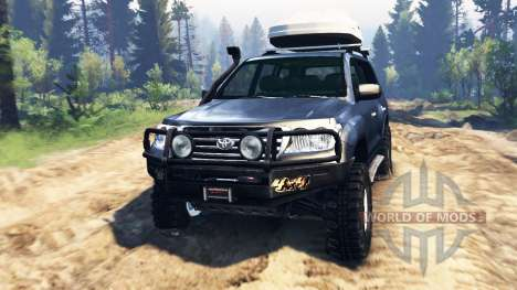 Toyota Land Cruiser 200 2008 v2.0 für Spin Tires